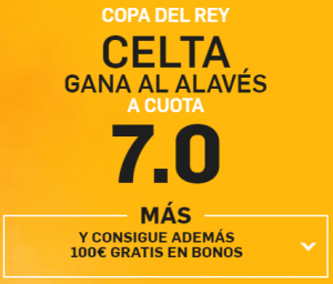 Supercuota Betfair celta