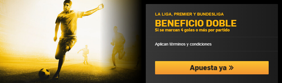 Beneficio Doble La LIga Betfair