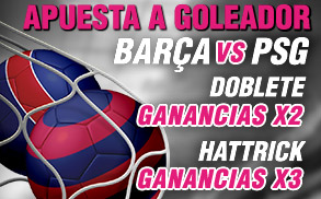 Promo goleador Barcelona Champions Wanabet