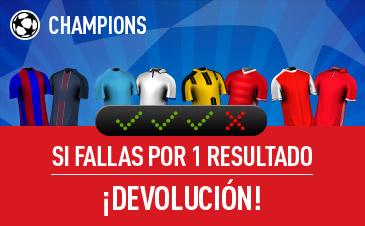 Sportium Champions Combinada devolución