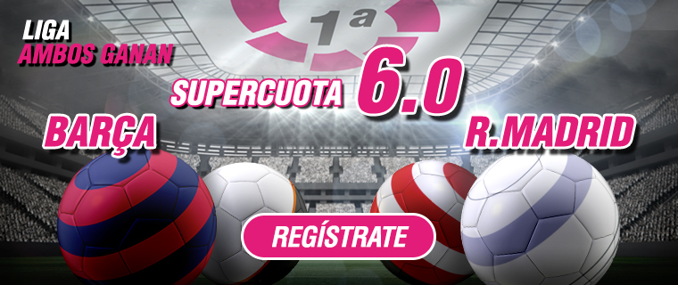 supercuota Wanabet barcelona madrid 6