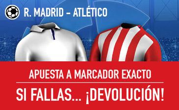 Sportium Real Madrid - Atlético devolución