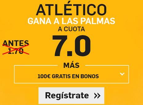 Supercuota Betfair la Liga Atlético las Palmas