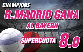 Wanabet Supercuota Champions Real Madrid Bayern