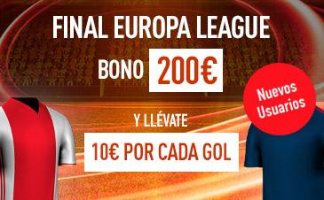 Sportium Final Europa League bienvenida