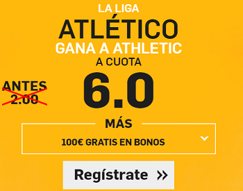 Supercuota Betfair Atlético Athletic