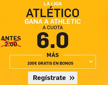Supercuota Betfair Atlético Athletic