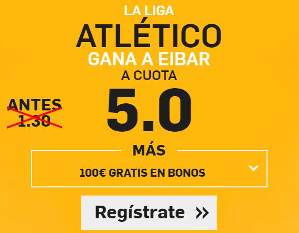 Supercuota Betfair la liga Atletico