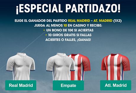 Williamhill Champions League R. Madrid - At Madrid Casino