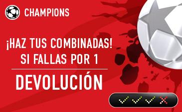 Sportium Champions Combinada devolucion
