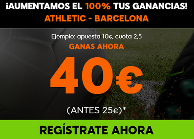 Supercuota 888sport la liga - Athletic vs Barcelona