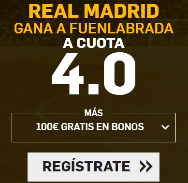 Supercuota Betfair copa del rey real madrid