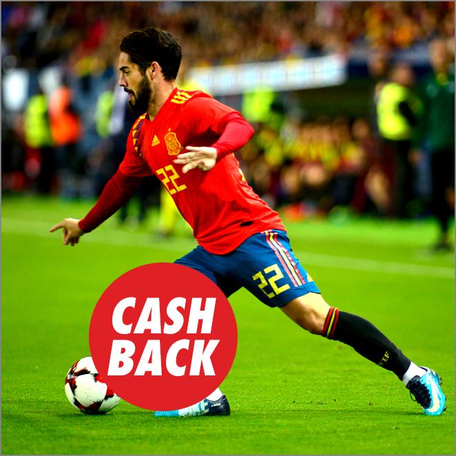 Circus Rusia vs España cashback
