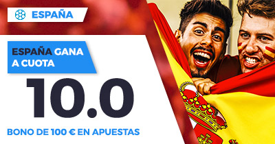 Supercuota Paston Amistoso Mundial - España gana a cuota 10.0
