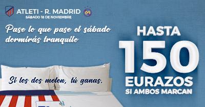 Supercuota Paston la Liga - Atleti - R. Madrid