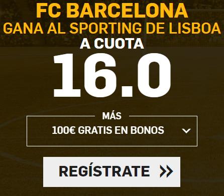 Supercuota Betfair FC Barcelona - Sporting de Lisboa