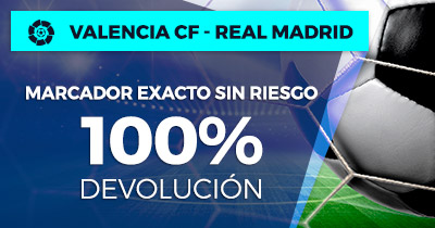 Paston la Liga Valencia CF - Real Madrid 100% devolución