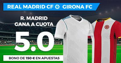 Bonos de Apuestas Supercuota Paston la Liga R. Madrid - Girona FC