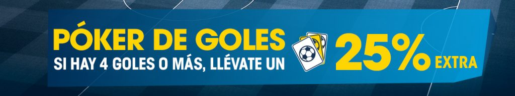 Poker de Goles Williamhill