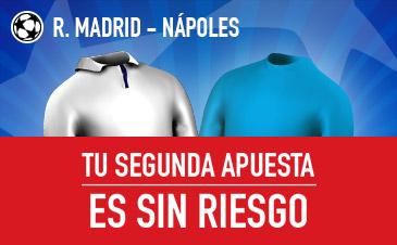 Sportium apuesta sin riesgo R Madrid champions