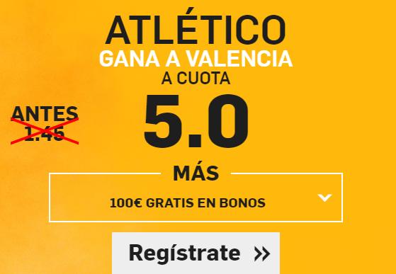 Supercuota Betfair Atlético Valencia