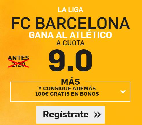 Supercuota Betfair Barcelona gana Atlético