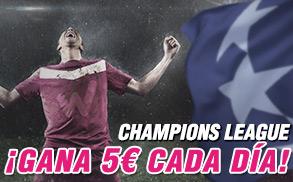 gana 5€ wanabet champions