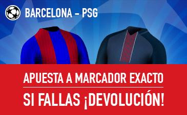 Barcelona PSG Sportium