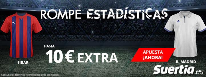 Rompe estadísticas suertia Real Madrid Eibar