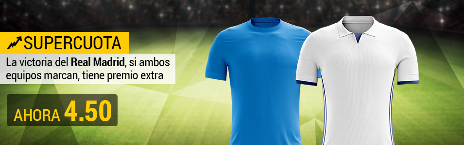 Supercuota Real Madrid Nápoles BWIN