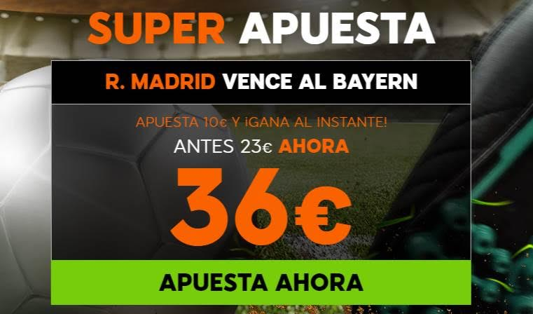 Supercuota 888sport R Madrid