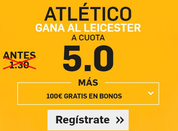 Supercuota Betfair Champions Atletico