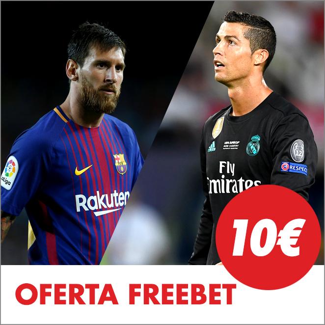 Circus La Liga apuesta 20€ y recibe 10€