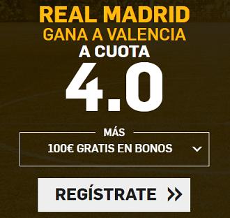 Supercuota Betfair Real Madrid Valencia