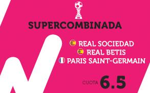 Wanabet Supercombinada La Liga y Ligue 1