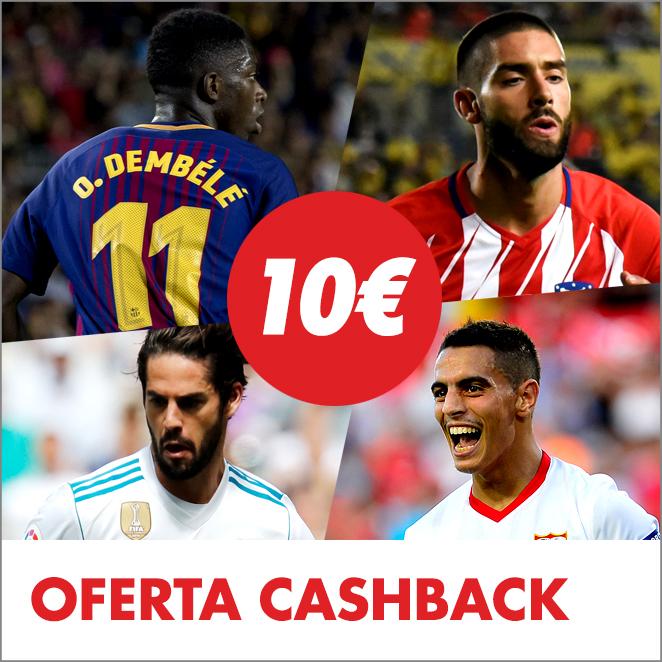 Circus Champions League 10€ cashback
