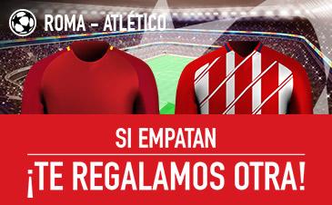 Sportium Roma Atlético si empatan devolución