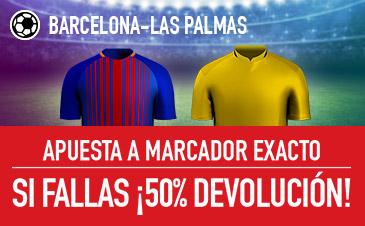 Sportium la liga Barcelona - Las Palmas