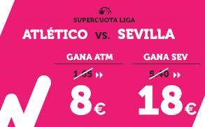Supercuota Wanabet la Liga Atlético - Sevilla
