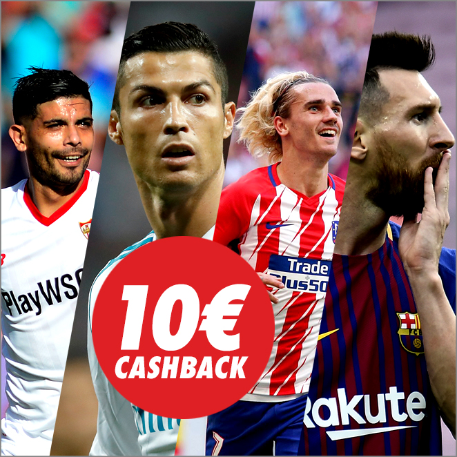Circus Champions League combinada cashback