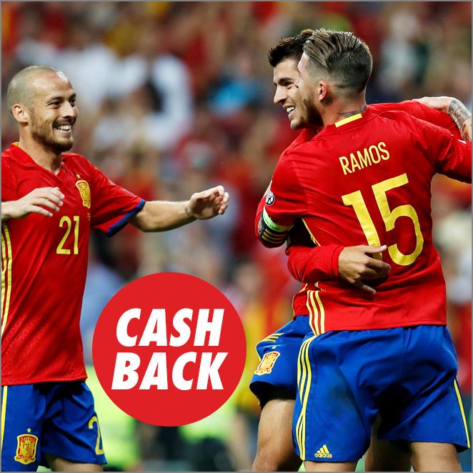 Circus Clasificación al Mundial España - Albania Cashback