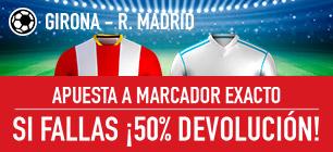 Sportium la liga Girona Real Madrid