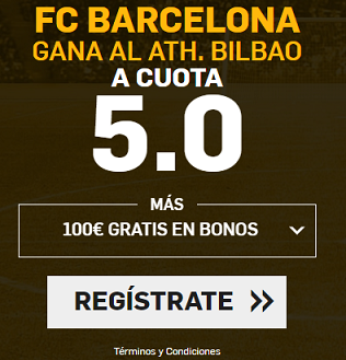 Supercuota Betfair la liga - FC Barcelona vs Athletic