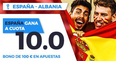 Supercuota Paston Copa del Mundo - España vs Albania