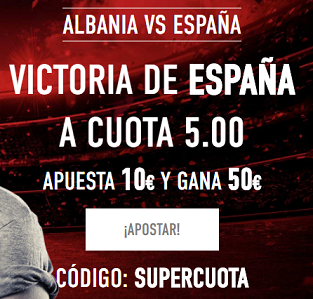 Supercuota Sportium Albania vs España