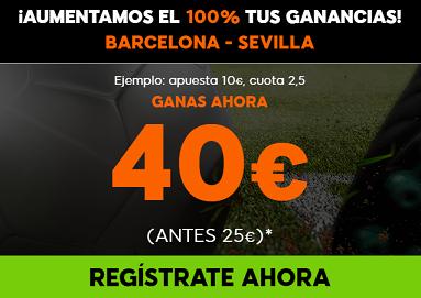 Supercuota 888sport Barcelona - Sevilla, R. Madrid - Las Palmas