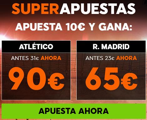 Supercuota 888sport la Liga- Atlético vs R. Madrid