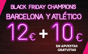 Supercuota Wanabet Champions Barcelona - Atlético