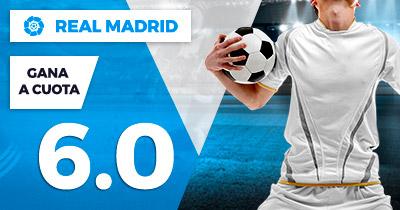 Supercuota Paston la Liga Real Madrid