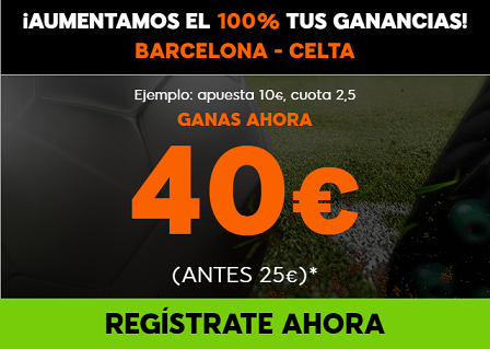 Supercuotas 888sport la Liga R. MAdrid Athletic, Barcelona celta